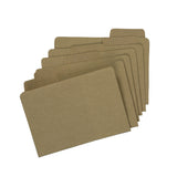 4x6 File Folder - Kraft (6 pcs)