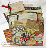 7gypsies 4x6 Printed Recipe Cards  (10 pieces)