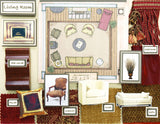 Room Planning & Decorating Kit - Living Room