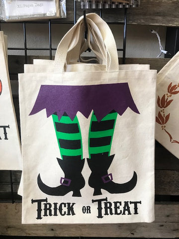 Halloween Treat Bags - Happy Halloween w/Witch