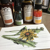 Mixed Media Origins Mini Art - Garden Flowers