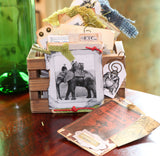 7gypsies Mini Vintage ATC Crate: Stained