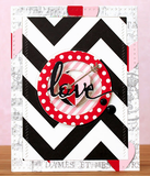 Black and White Chevron Paper