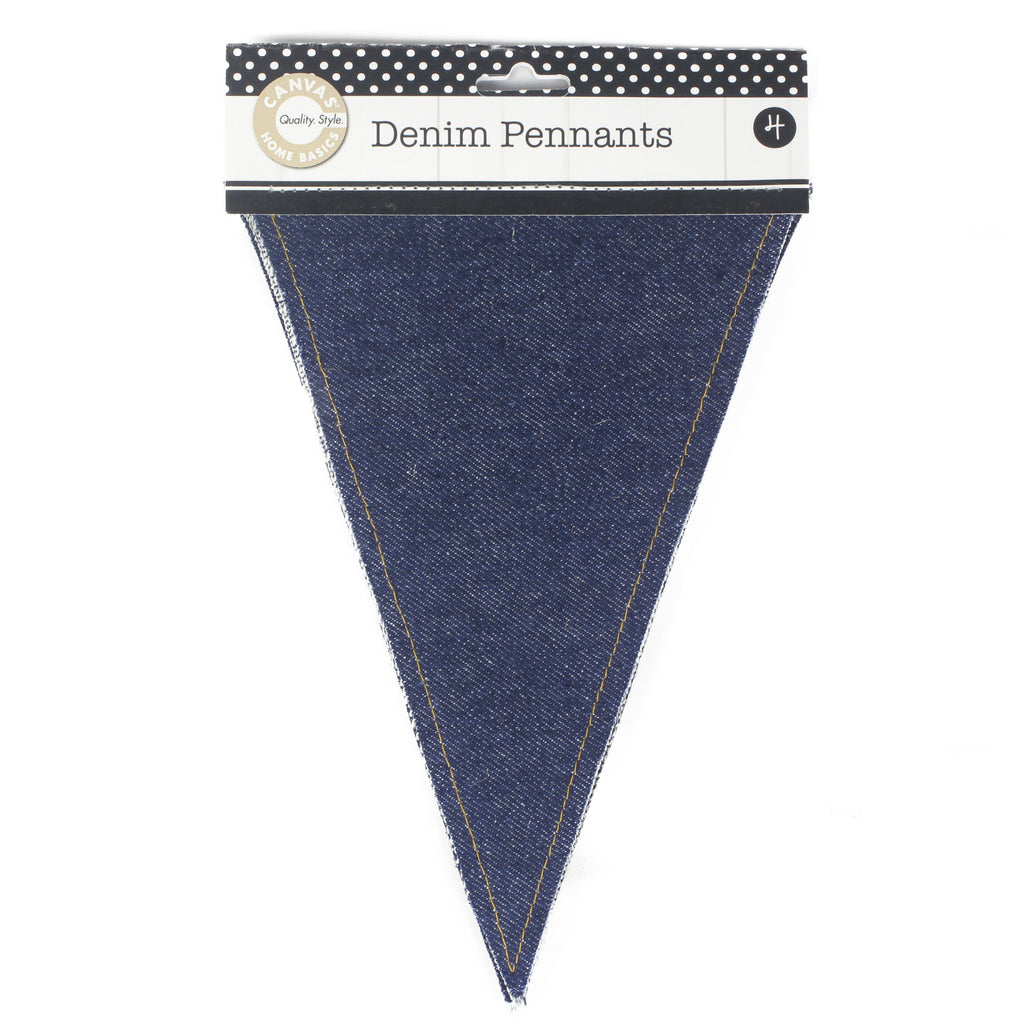 Denim Pennants