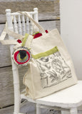 Canvas Bag - Canvas Market Tote with Gusset