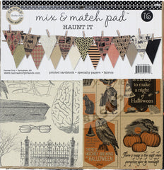 Mix and Match Pad - Haunt It