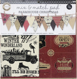 Mix and Match Pad:  Farmhouse Christmas