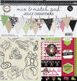 Mix and Match Pad:  Jolly Christmas