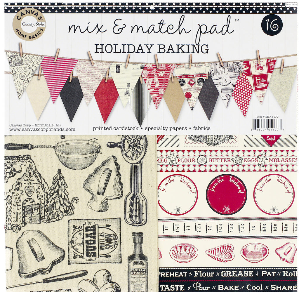 Mix & Match Pad - Holiday Baking