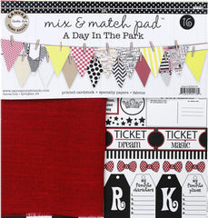 Mix and Match Pad:  Day at the Park