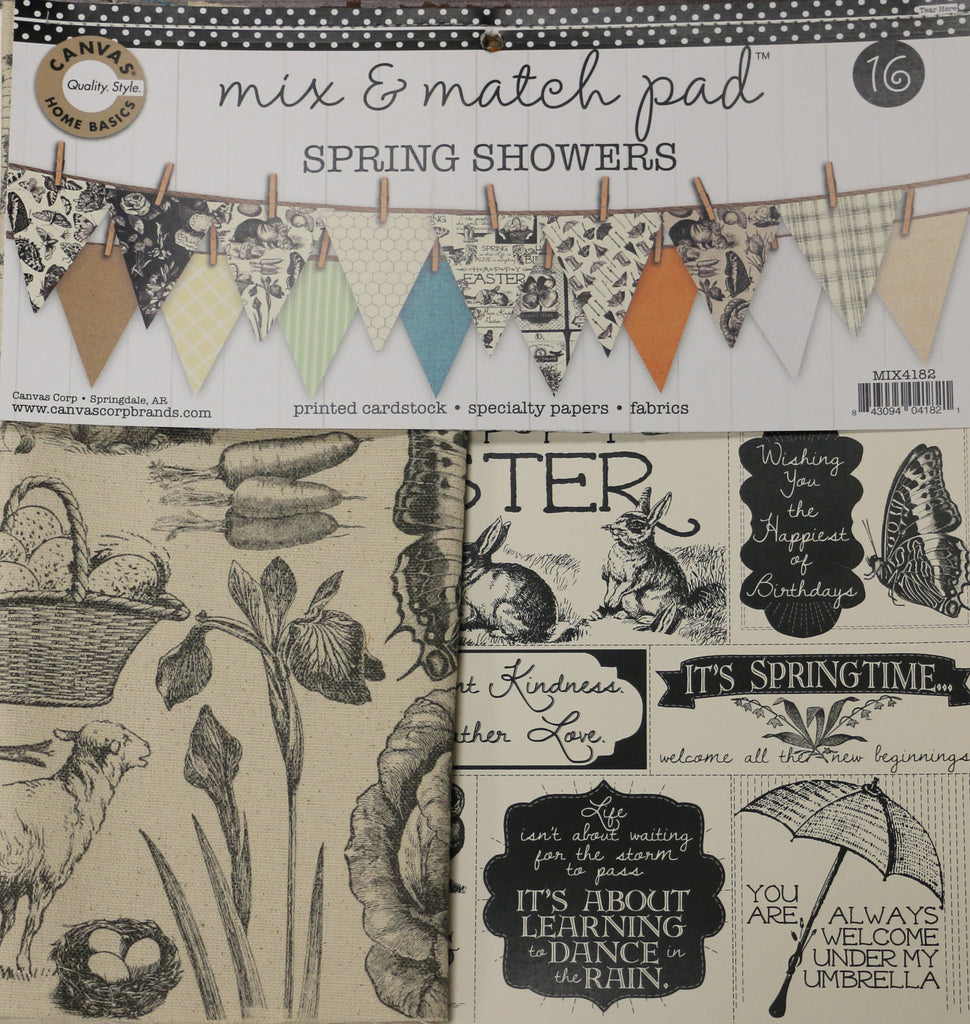 Mix & Match Pad - Spring Showers