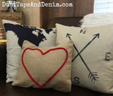 Canvas Pillow with Zipper - Square (available in 2 sizes)