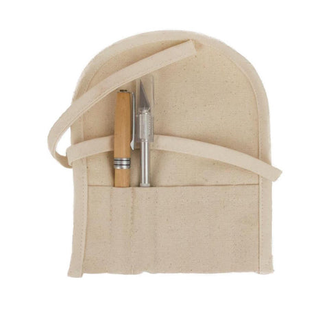 Canvas Pen and Pencil Holder