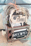 7gypsies Mini Vintage ATC Crate: Black