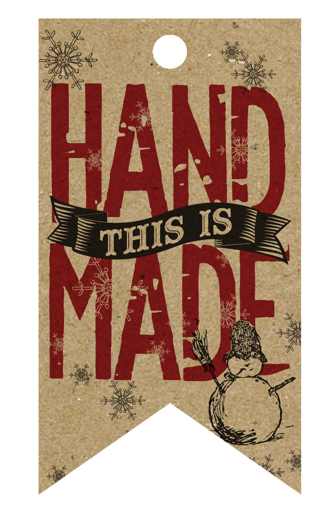 Holiday Tags - This is Handmade Tags