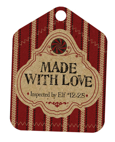 Holiday Tags - Made with Love