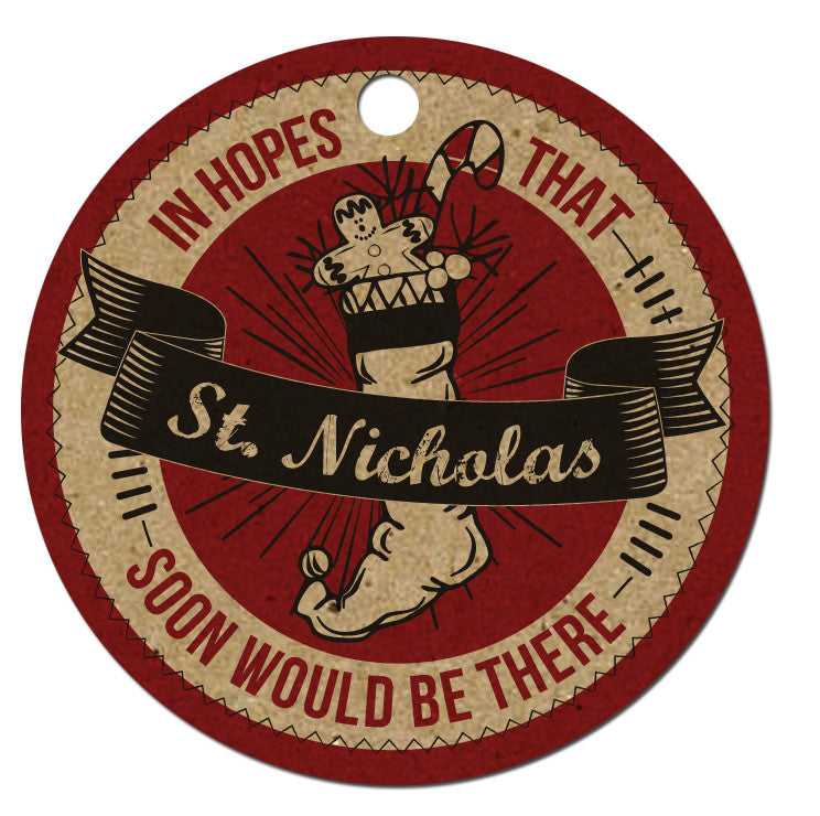 Holiday Tags - St. Nicholas