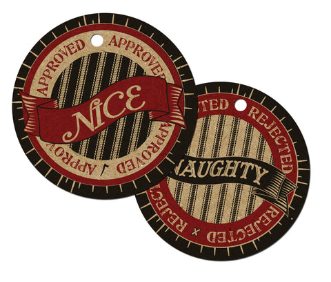 Holiday Tags - Naughty or Nice