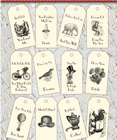 Main Street Collection Tags -
