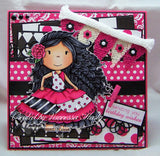 Mini Clothespins- Hot Pink (25 pieces)