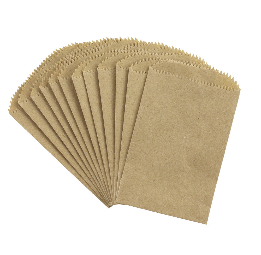 Paper Bags Kraft (12 pieces)
