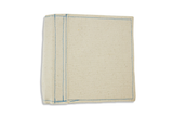 Canvas Ringed Book 6 x 6 - Blue Stitching