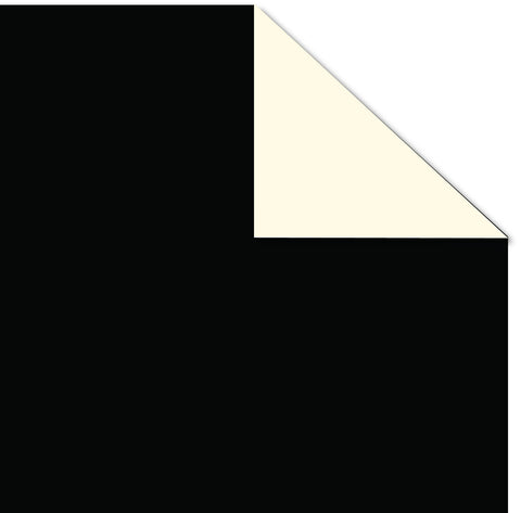 Printd Cardstock - Black on Ivory