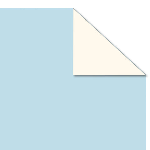 Printd Cardstock - Blue on Ivory Paper