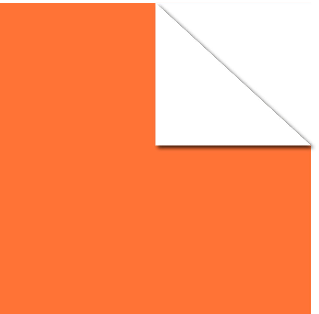 Printd Cardstock - Orange on White