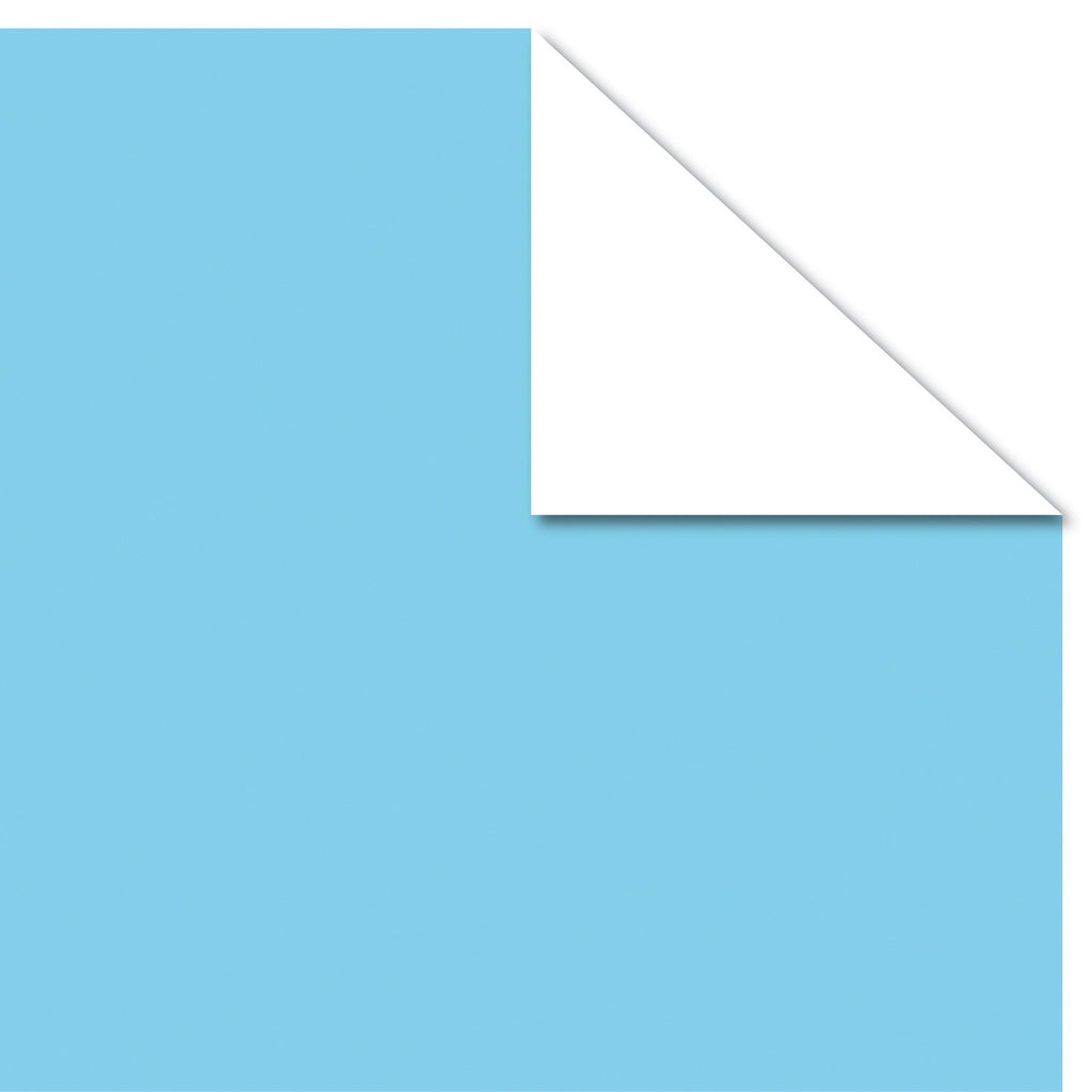 Printd Cardstock - Turquoise on White Paper