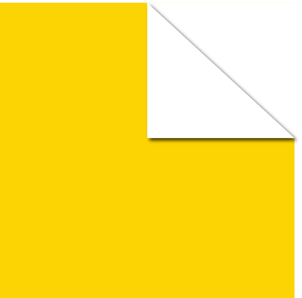 Printd Cardstock - Yellow on White Paper