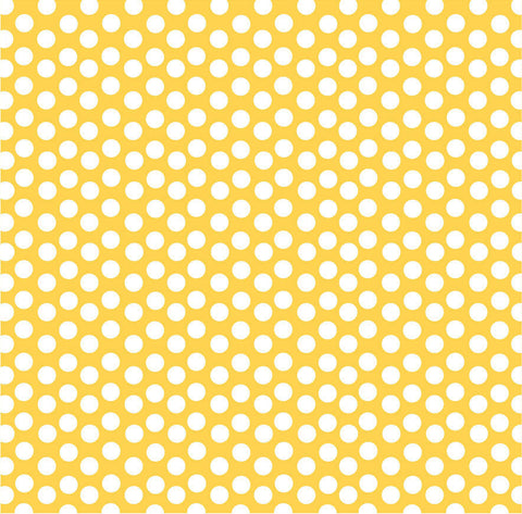 Yellow and White Dot Rev Paper