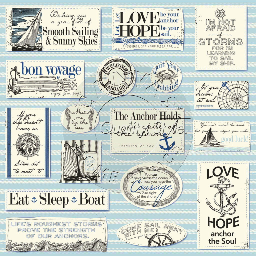 Nautical Sayings Paper – Canvas Corp Brands