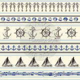 Nautical Stripe Paper