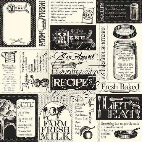Farmhouse Kitchen Labels