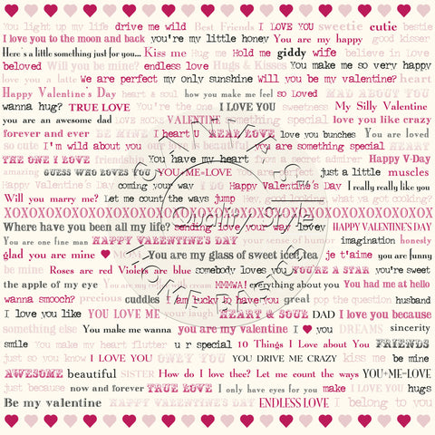 Valentine's Day: Sending Love Words on Ivory Paper