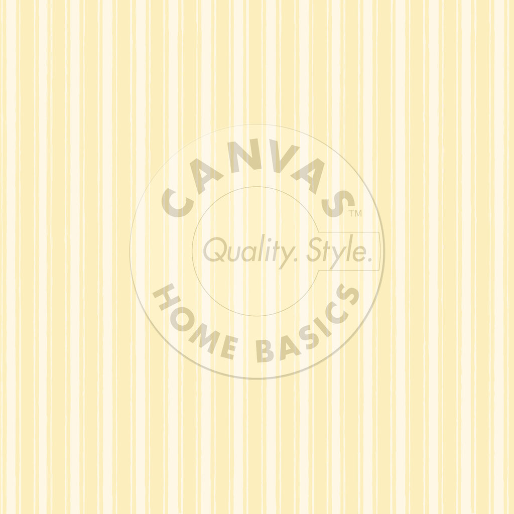 Yellow and  Ivory French Linen Stripe Paper