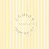 Yellow & Ivory French Linen Stripe Paper