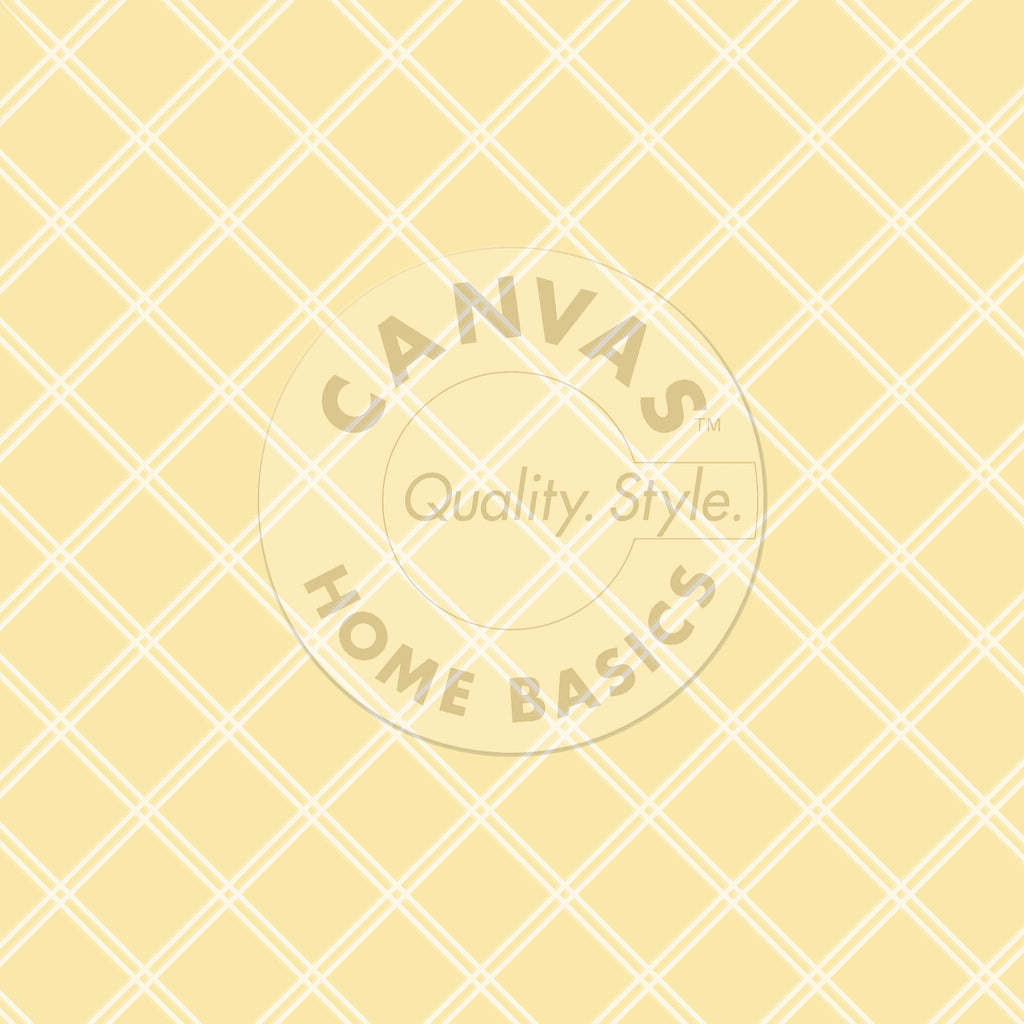 Yellow & Ivory Lattice Paper