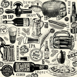 Vino and Ale: On Tap on Ivory Paper