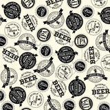 Vino and Ale: Brew Labels on Ivory Paper