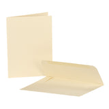 Greeting Cards with Envelopes - Ivory (Cardstock - Heavy Duty Paper Weight)