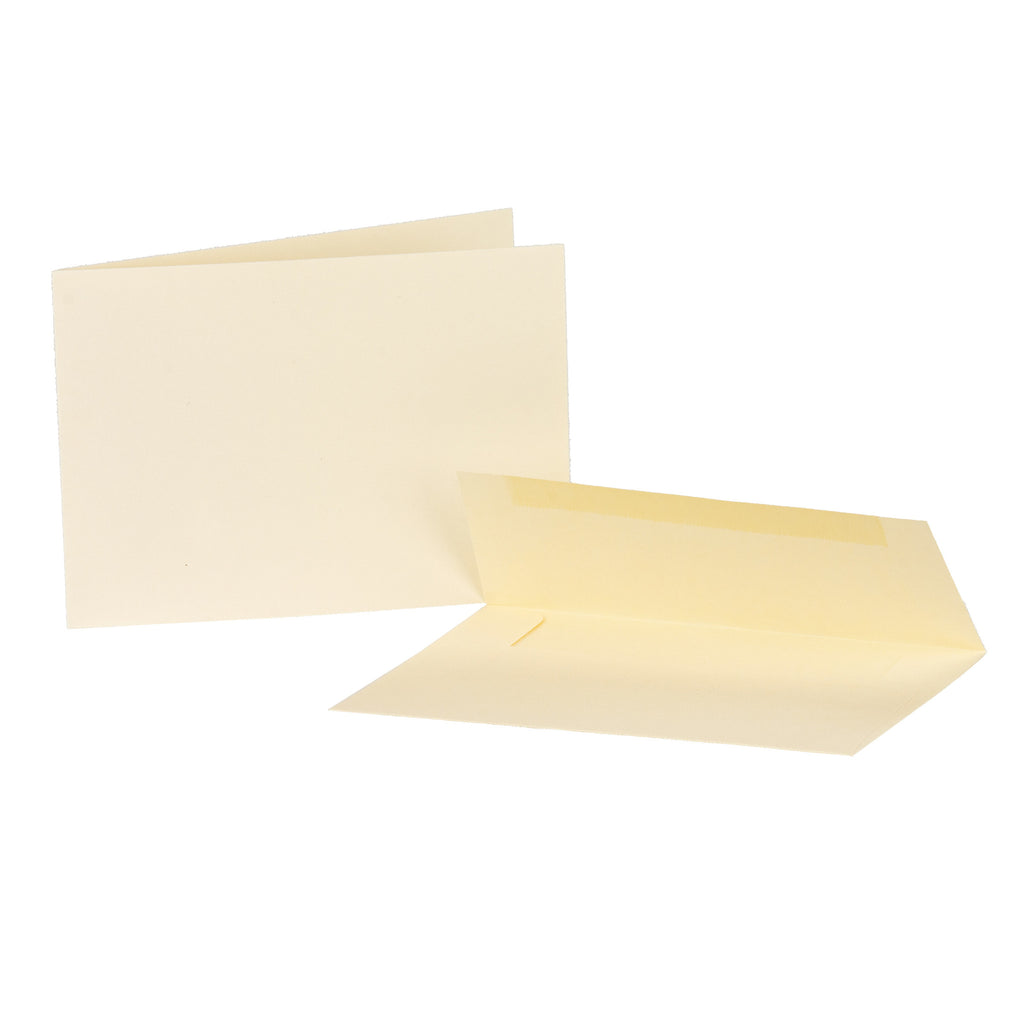 Cards/envelops - Horizontal -  Ivory