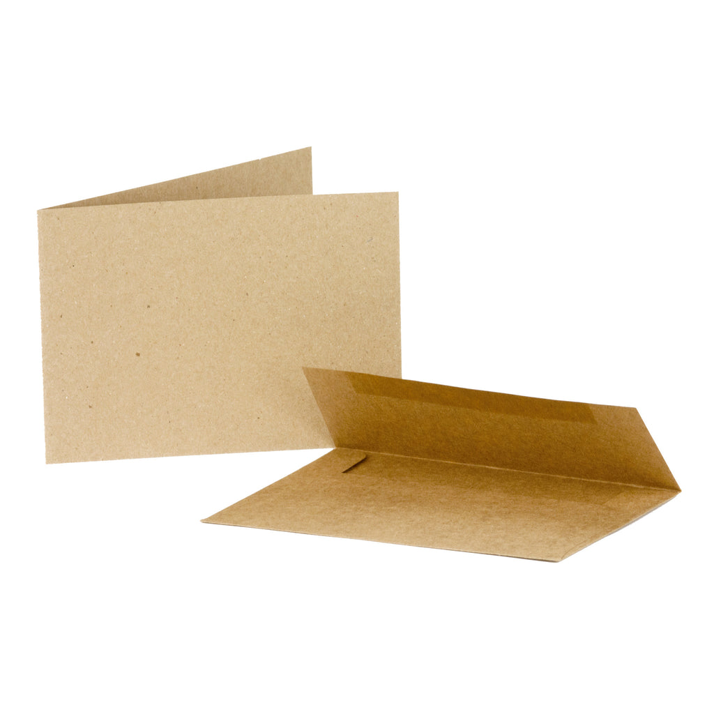 Cards/Envelopes - Horizontal - Kraft