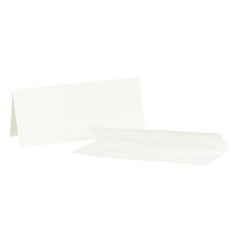 Cards and Envelopes - White Skinny Cards #10