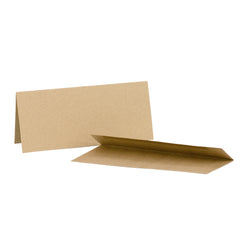 Cards/Envelopes Skinny  (8) Kraft