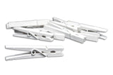 Decorative Clothespins White