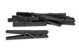 Decorative Clothespins- Black