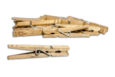 Decorative Clothespins- Jacobean