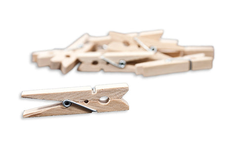 Small Clothespins Natural (12pc)